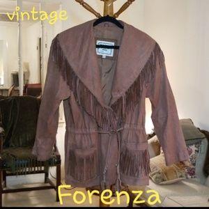 Vintage Forenza Sude Leather Jacket